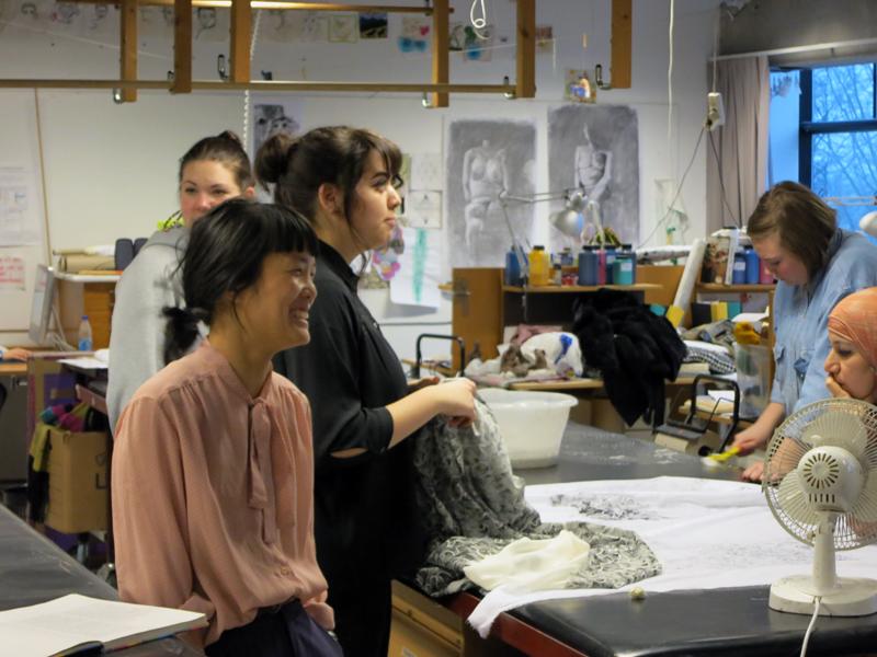 Textilutbildningen på Östra Grevie folkhögskola