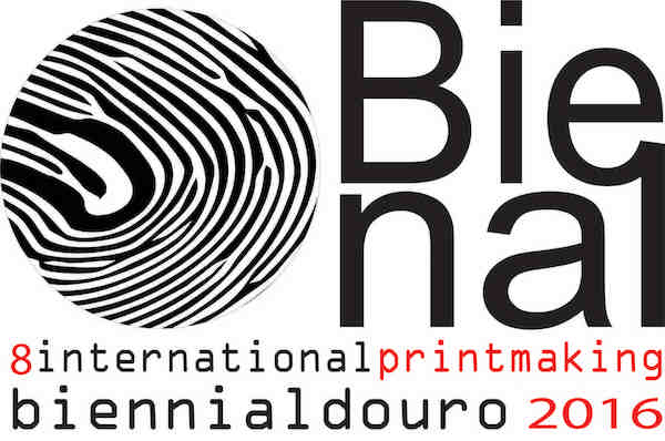logotyp till International printmaking Biennale Douro 2016
