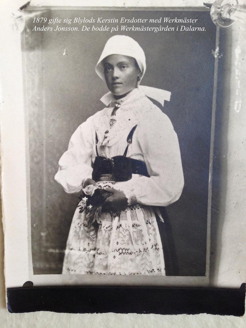 fotografi av Werkmäster Kerstin från slutet av artonhundratalet