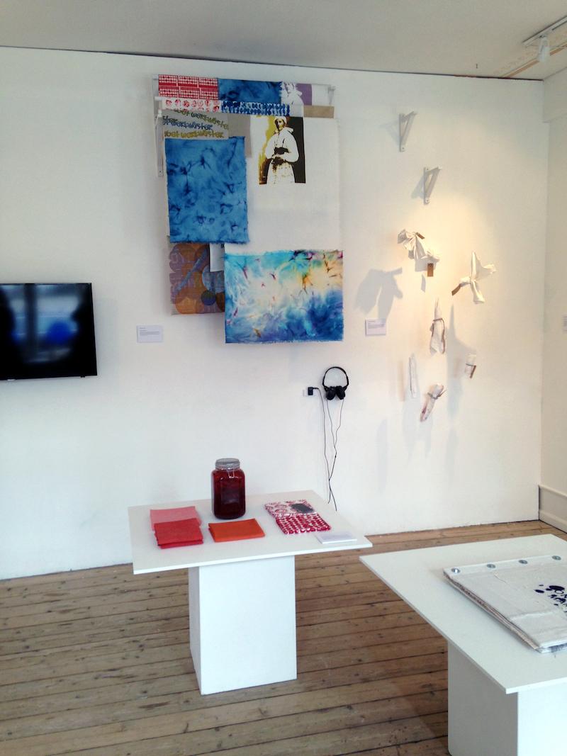 galleri st Gertrud med utställningen On Your Marks
