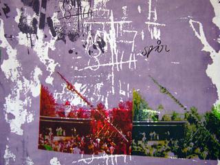 ttextiltryck på linne av Josabet Werkmäster