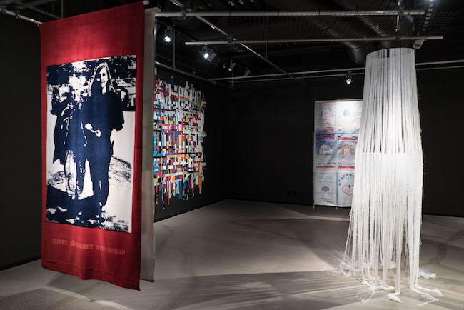 Everyday Matter-the Value of Textile Art på Textilmuseet i Borås 2017